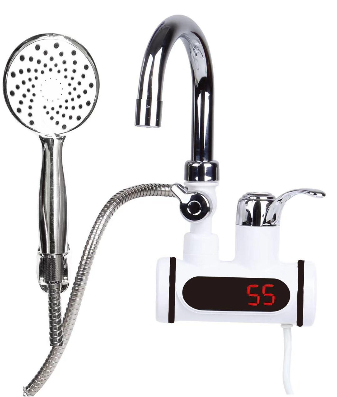 Индикация температуры мгновенный кран горячей воды без резервуара Электрический кран воды мгновенный горячий кран водонагреватель|Электрические водонагреватели| | АлиЭкспресс