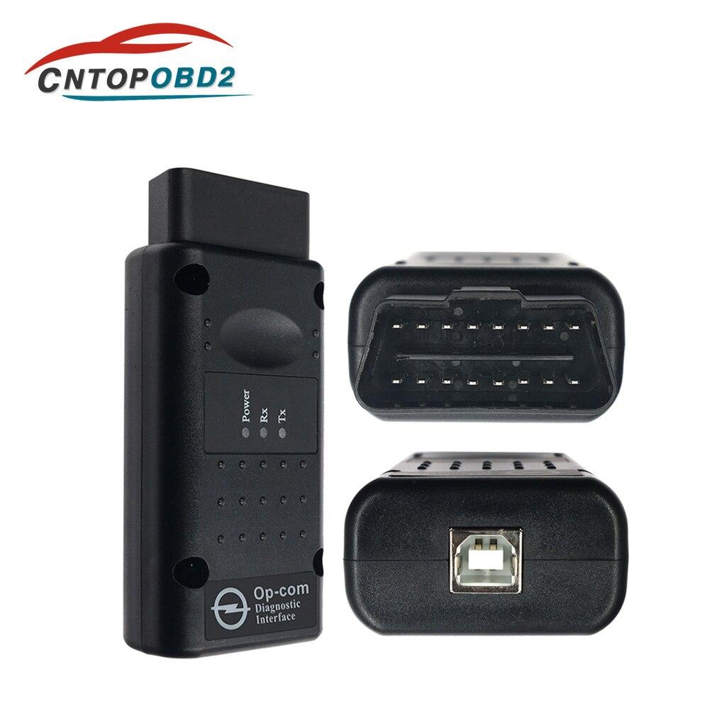 Neueste Firmware OPCOM V1.70 V1.59 Code Reader Für Opel OP COM Auto Diagnose PIC18F458 FTDI Chip OBD2 Scanner-update