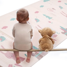 Baby Play Mat Foldable Playmat XPE Puzzle Playmat for Kids Crawling Carpet  Children Waterproof Mat Thickened Infant Baby Room цена