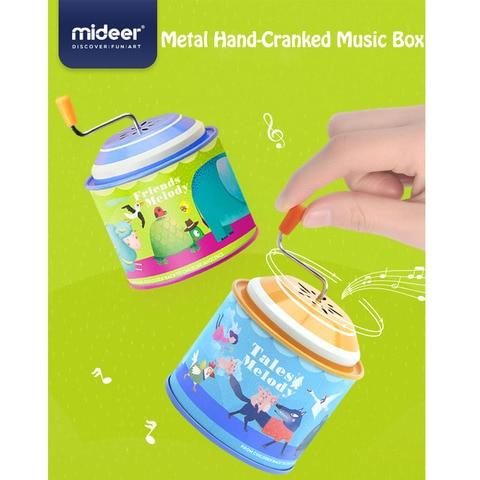 mideer criancas musica educacional classico retro piano musica mao caixa de musica do bebe conto