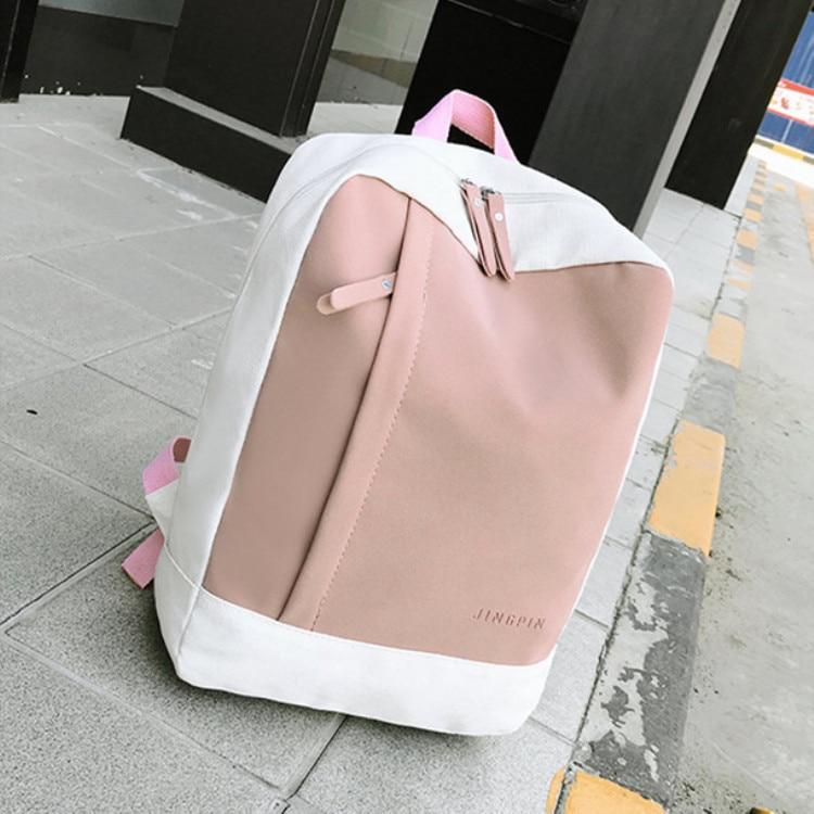 Women Backpack Junior High School Student Backpack School Bags For Teenage Girls Female Korean Backpack School Season Travel Bag