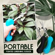Portable Pointed Gardening Scissor Gardening Hand Pruner New Pointed Garden Shear Special Scissors Easy Pruners Garden Accessory