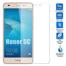 2 peças 9h vidro protetor de tela para honra 5c Nem-L51 l22 smartphone vidro protetor em honra 5c 5 c huawey segurança vidro temperado