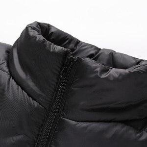 Image 2 - SingleRoad Winter Vest Men 2019 Camouflage Bodywarmer Sleeveless Jacket Male Ultralight Warm Black Mens Cotton Coat Windproof