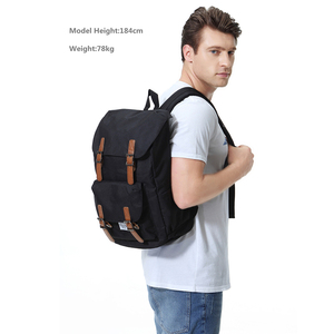 Image 5 - VASCHY  Mens Backpack Student Bag College High School Bags Travel Bag Laptop Backpack bookbag  women backpack