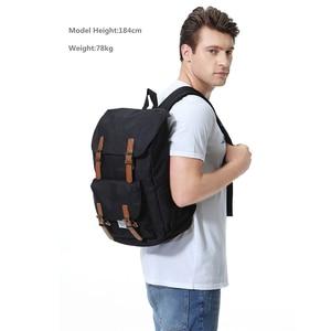 Image 5 - VASCHY 남자 배낭 학생 가방 대학 고등학교 가방 여행 가방 노트북 배낭 bookbag 여자 배낭
