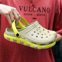 2020 New Crocks Shoes Male Mens Shoes Crocse Sandals Sandalias Summer Shoes Sandalen Slippers Sandal