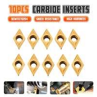 10pcs DCMT070204 SM IC908 Internal Turning Tool DCMT 070204 Carbide Insert Lathe Cutter Tool turning insert Cutting Tools CNC Turning Tool     -