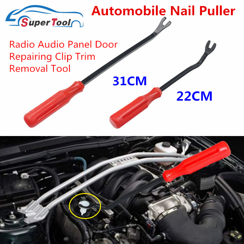 Qiman Car Buckle Removal Screwdriver Crowbar Tool For Plastic Fastening Clips