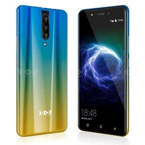 "Image 5 - XGODY 4G Smartphone Dual Sim 5.5 ""18:9 אנדרואיד 9.0 2GB RAM 16GB ROM MTK6737 Quad Core 5MP מצלמה 2800mAh WiFi נייד טלפון"
