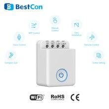 2020 Bestcon Mcb1 Broadlink Intelligentie zamanlama ses kontrolü Wifi Draadloze Schakelaar Wifi durumda