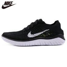 Originl Nike Free RN Flyknit Womens Running Shoes Mesh Cushion Damping Sneakers