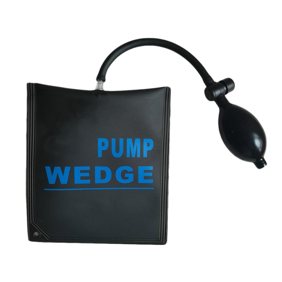 Locksmith Supplies Pump Air Wedge Pump Up Bag Car Door Window Frame Fitting Install Shim Wedge Tools Set 2pcs 15 x 17cm