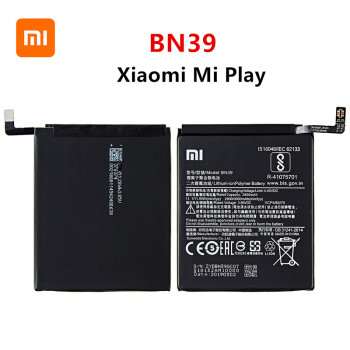 Xiao mi 100% Orginal BN39 3000mAh battery For Xiaomi Mi Play BN39 High Quality Phone Replacement Batteries high quality for xiao mi bm51 battery 5400mah in stock