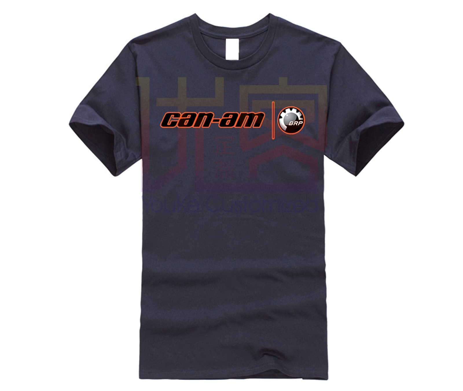 Men's Can Am Spyder Logo Fashion T-Shirt Casual Short Sleeve Top O Neck Cotton Tees Tops Cotton Tee Shirt Present