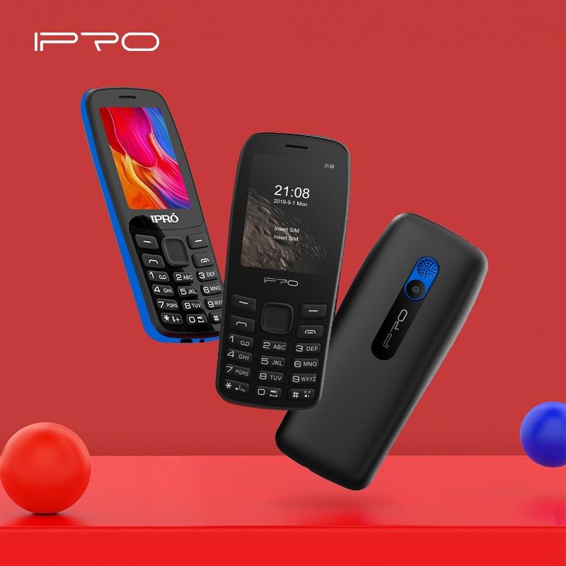 "IPRO A25 Handy 2.4 ""LCD Bildschirm Telefone 32MB ROM Feature Phones mit Fackel Handy Taschenlampe Kamera 1000Mh batterie"