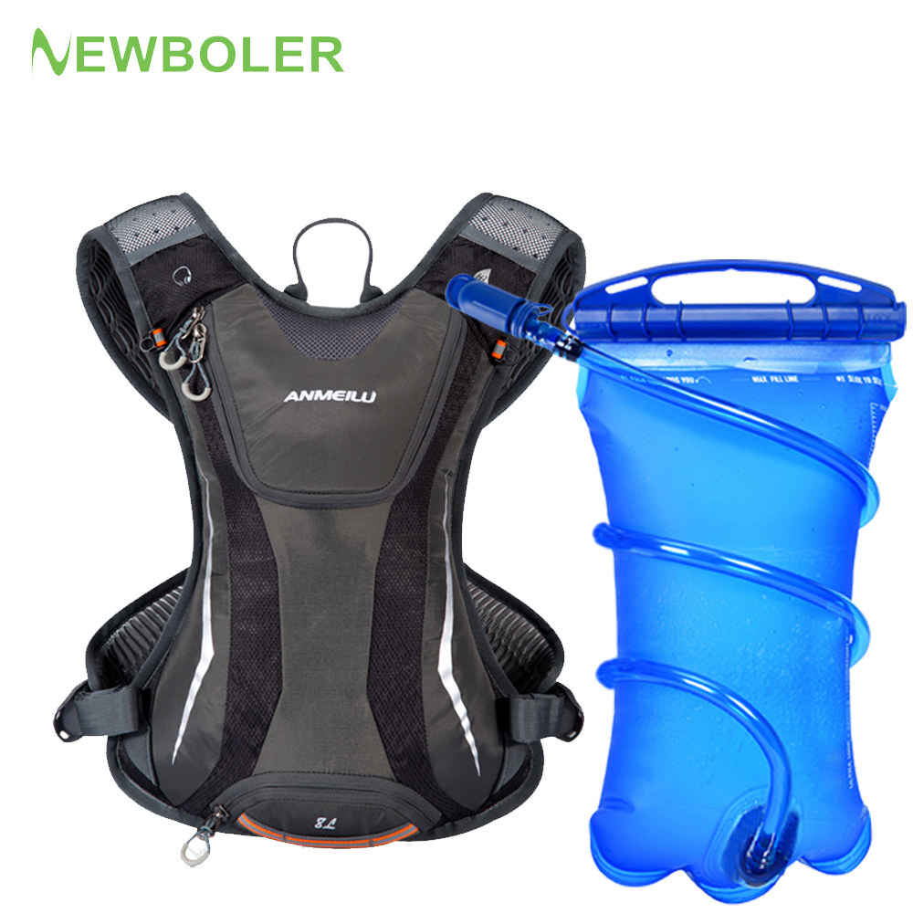 5L Sports Bag Waterproof Hydration Backpack CRunning Vest Bicycle Bag Cycling Water Bag Breathable Bike Daypack Climbing|Bicycle Bags & Panniers| |  - title=