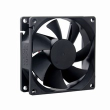2Pcs Gdstime 80x80x25MM 80mm DC 48V 0.1A Server Square Inverter Axial Cooling Fans nmb mat 5910pl 07w b75 l54 dc 48v 0 85a 170x150x25mm server square fan