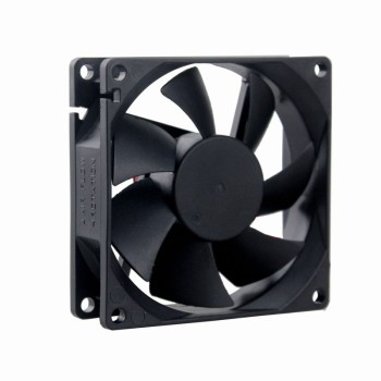 2Pcs Gdstime 80x80x25MM 80mm DC 48V 0.1A Server Square Inverter Axial Cooling Fans free shipping for delta ffb1248ehe 4b77 dc 48v 0 75a 120x120x38mm 3 wire 80mm server square cooling fan