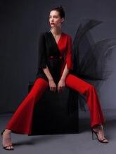 Высококачественный Женский комбинезон женский костюм офисный