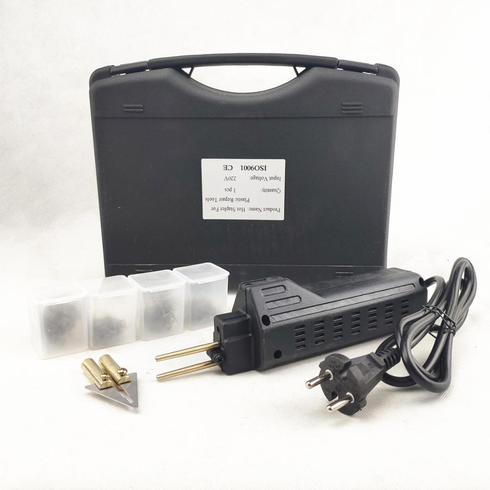 Hot Stapler Car Bumper Repair Fender Fairing Welder Plastic Repair Kit Portable Plastic Repair Tools