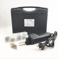 Kit de reparación de parachoques de coche con grapadora caliente  guardabarros de carenado  Kit de reparación de plástico portátil  herramientas de reparación de plástico|hot stapler|plastic welding machine|plastic welding -