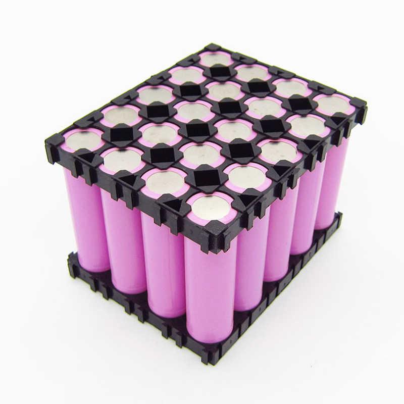 Aokin 18650 Supporto Della Batteria 4x5 3x5 Box Cell. 18650 Batterie Spacer Titolari Radiante di Plastica Del Supporto della Staffa per Batteria Fai Da Te