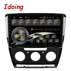 """Image 2 - Idoing 10.2""""Android For SkodaOctavia 2 A5 2008 2013 Car Radio Multimedia Video Player Navigation GPS Accessories Sedan No dvd"""