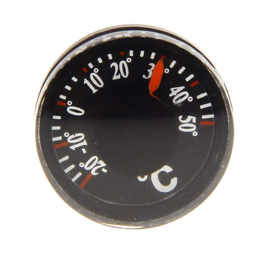 1 шт., термометр, компас, автомобильный, для кемпинга, пеших прогулок, направляющие аксессуары, компас, портативный ручной Z1D4