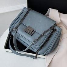Брендовая дизайнерская сумка на плечо для женщин тренд 2020