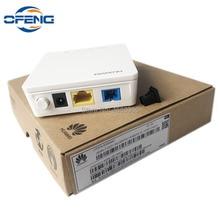50PCS brand new Huawei HG8010H ont GPON ONU 1G SC UPC firmware optical communication equipment with power adapter, no box
