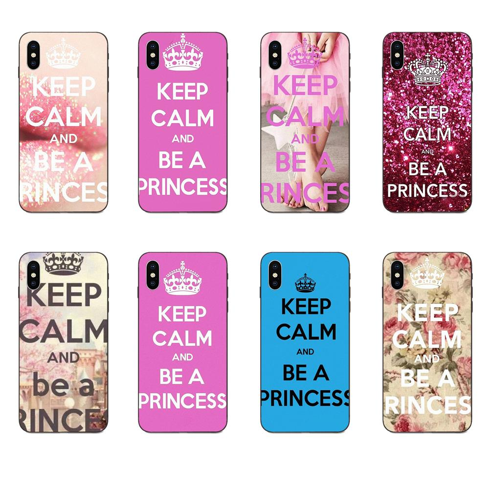 Keep Calm Be A Princess For <font><b>Galaxy</b></font> A3 A5 A6 A6s A7 A8 A9 A10 A20E <font><b>A30</b></font> A40 A50 A60 A70 A80 A90 Plus 2018 On Sale image