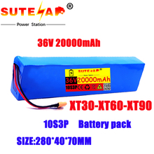 Batterie 10s3p, 36V, 20ah, 18650 W, 42V, pour scooters et vélos électriques, Xt60, 500