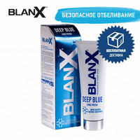 Tooth whitening products Blanx GA1504400 Beauty & Health Oral Hygiene Toothpastes Tooth whitening products Deep Blue