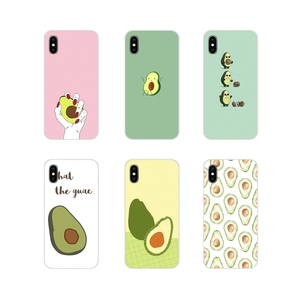 For Huawei G7 G8 P7 P8 P9 P10 P20 P30 Lite Mini Pro P Smart Plus 2017 2018 2019 Funny Tumblr avocado Silicone Phone Cases Covers(China)