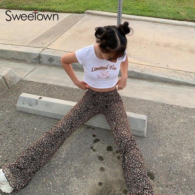 Sweetown Y2K Joggers  2