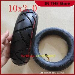 Высокопроизводительная 10x3,0 внутренняя и внешняя шины 10*3,0 трубчатая шина для электрического скутера KUGOO M4 PRO, шина для квадроцикла Go karts ATV Quad ...