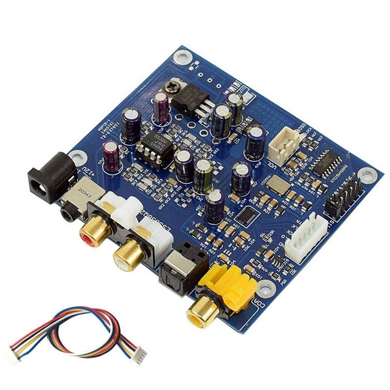 Hot 3C Es9038Q2M Es9038 Q2M I2S Dsd Optical Coaxial Input Decoder Dac Headphone Output Hifi Audio Amplifier Board|Operational Amplifier Chips| |  - title=