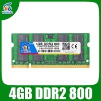 VEINEDA Sodimm 4gb ddr2 800Mhz ram ddr2 667mhz notebook for Intel amd mobo Support ram ddr2 pc6400