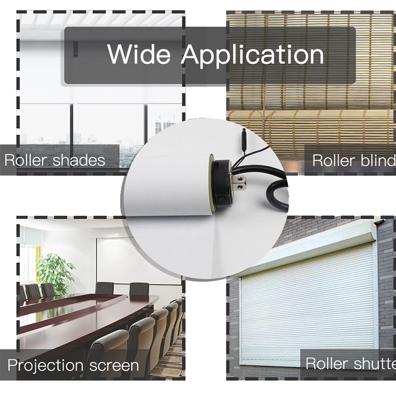 Image 5 - 35mm Tubular Motor Roller Blinds Shutter Motor 110V 220V Electirc Smart Wifi Curtain Motorized Rolling Blinds Tuya Smart Home-in Automatic Curtain Control System from Home Improvement