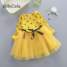 baby Girls dress spring autumn kids princess dress children dresses for baby girls fashion cute party dress clothes