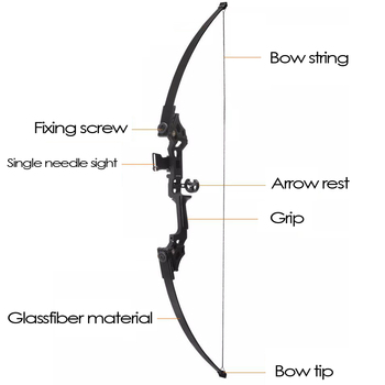 30-50lbs Straight Bow Powerful Archery Recurve Bow Hot Selling Professional Bow Arrows For Outdoor Hunting Shooting Competition 2