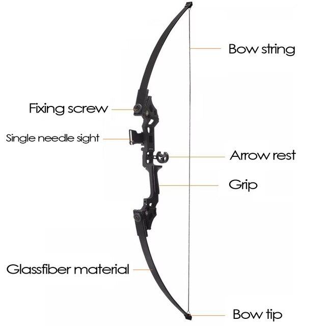 30-50lbs arc droit puissant tir à larc arc classique vente chaude flèches darc professionnel pour la compétition de tir de chasse en plein air