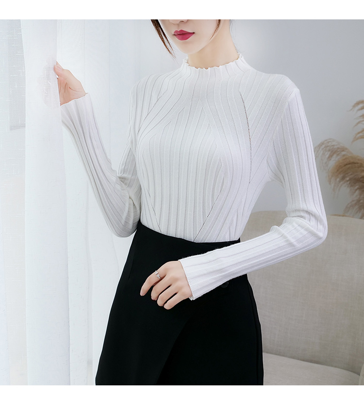 Sweaters fashion 19 women sweaters ladies winter clothes women knit solid black long sleeve tops sueter mujer Pullovers 0364 24