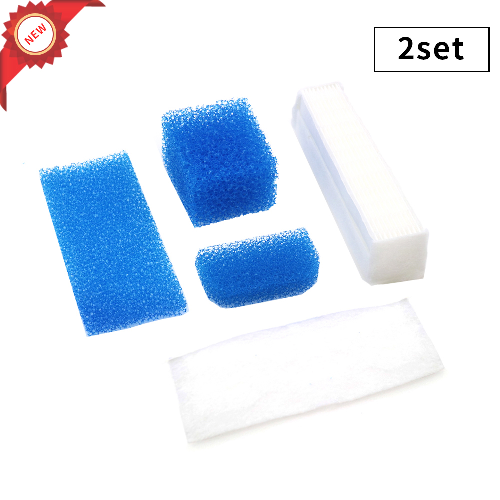 2set For Thomas Twin Genius Kit Hepa Filter For Thomas 787203 Vacuum Cleaner Parts Aquafilter Genius Aquafilter Filters