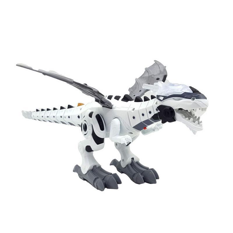 Intelligent Dinosaur Model Electric Remote Control Robot Mechanical Spray Dinosaur-Shaped Electric Toy Children Hobby Toys