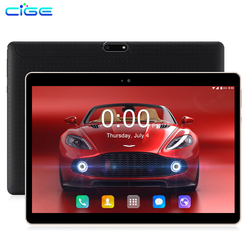 CIGE Limited Edition 10.1 Inch Original 3G 4G Lte Phone Call Double SIM Android 8.0 Octa Core Pc Tablets WiFi Tablet Pc 7 8 9 10
