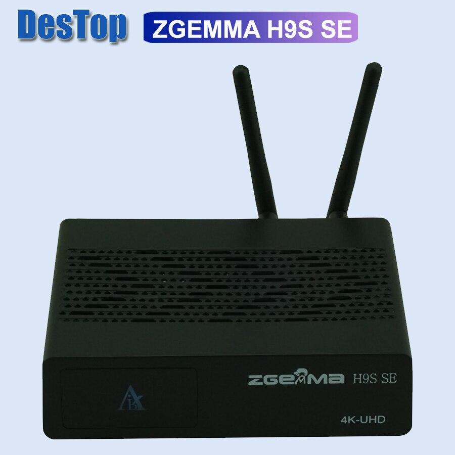 ZGEMMA H9S SE с 300 м wifi linux и android dual OS DVB-S2X Multistream 4K UHD 4K 2016P Обновление от спутникового приемника H9S