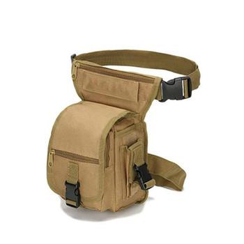 Wszechstronna talia taktyczna saszetka na nogę talia mała kieszeń wojskowa saszetka biodrowa saszetka do biegania na zewnątrz talia torba z narzędziami torby kempingowe podróżne tanie i dobre opinie BOUSSAC NYLON CN (pochodzenie)