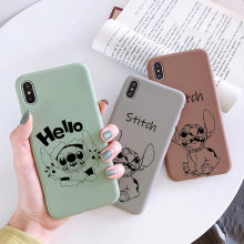Kartun Lucu Stich Stitch Case untuk XiaoMi RedMi Note 8 7 6 5 5A 4 4X K20 Pro Silicone cover Lembut Smart Coque Anime(China)
